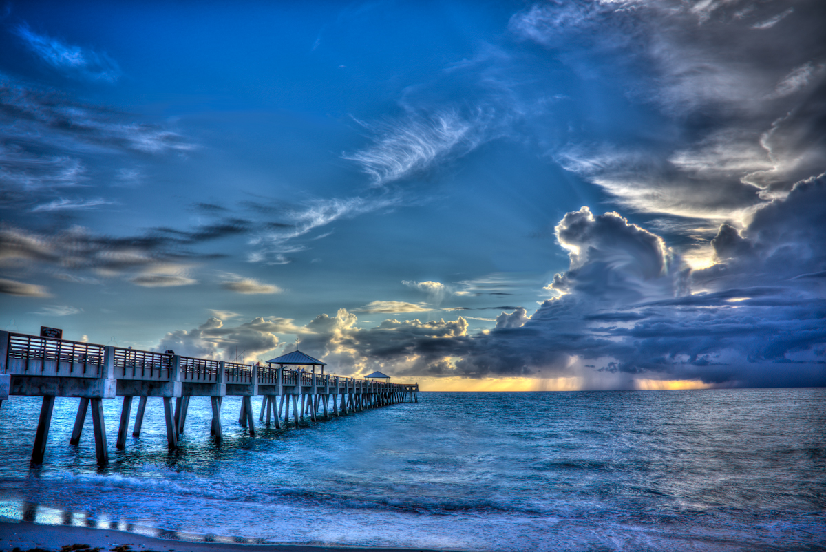 Sunrise-juno-pier-juno-beach-FL
